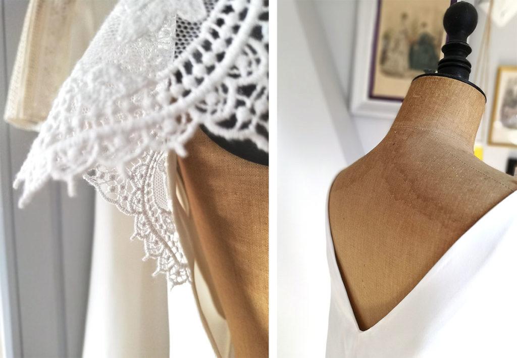 Ségolène Gabet robe de mariée Lille création sur mesure éco responsable