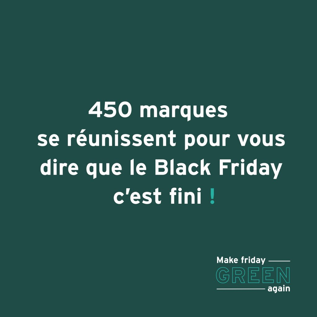 STOP BLACK FRIDAY