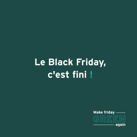NON AU BLACK FRIDAY